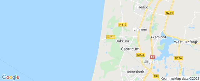 Belvilla - Strandhuisje Castricum aan Zee Zeezicht