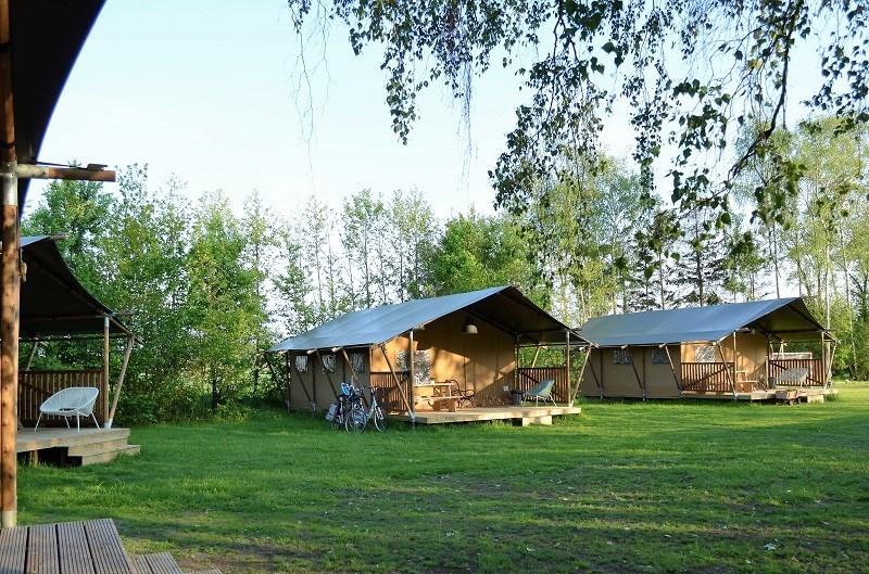 Slapen in een safaritent in de Ardennen | Al 25 jaar