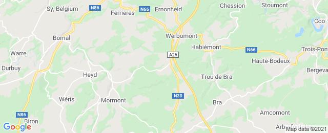 Noorse boomstamchalet met privacy en toffe faciliteiten in de Ardennen